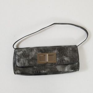 The Limited Gray Clutch